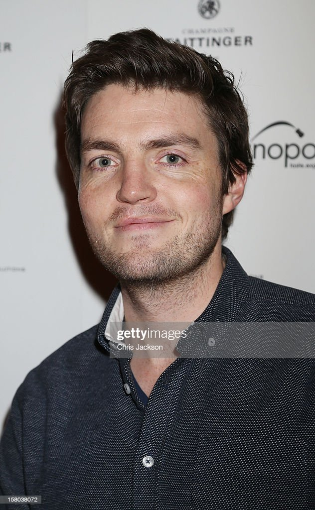 Tom Burke attends the post-show party, The 25th Hour, following The Old Vic's 24 Hour Musicals Celebrity Gala 2012 during which guests drank Jack Daniels Single Barrel, Curtain Raiser cocktails in The Great Halls, Vinopolis, Borough on December 9, 2012 in London, England.