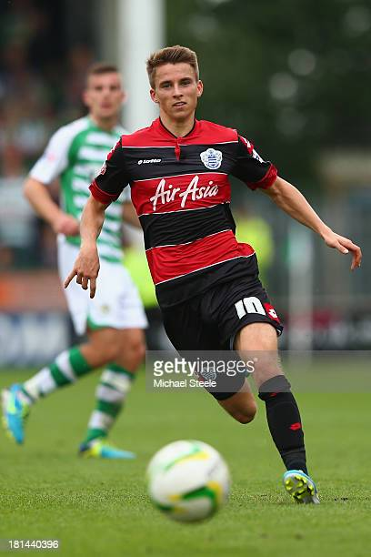 Tom Carroll of Queens Park Rangers during the Sky Bet Championship match between Yeovil Town and Queens Park Rangers at Huish Park on September 21...
