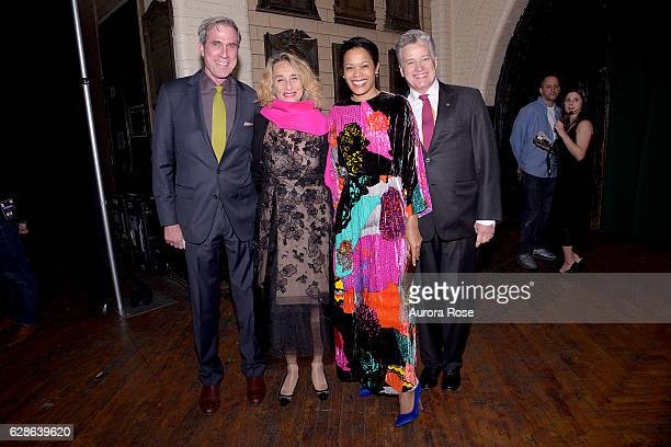 Tom Cashin Ann DexterJones Bonnie Morrison and Jay Johnson attend ACRIA Holiday Dinner Honoring The Robert Mapplethorpe Foundation Judith Light and...