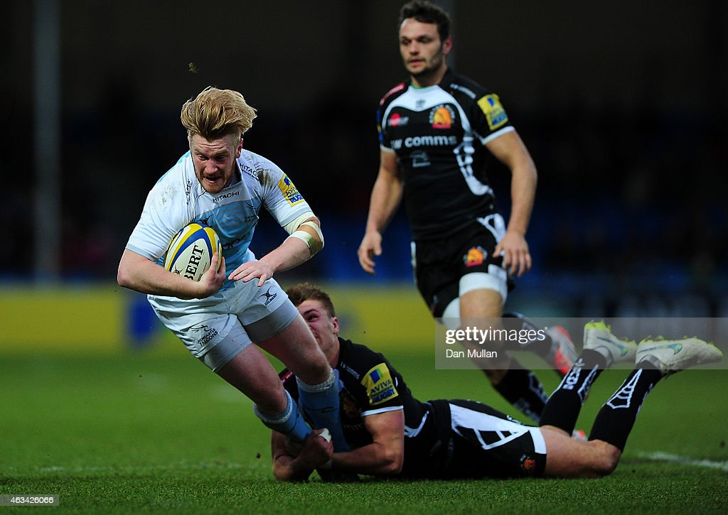 Exeter Chiefs v Newcastle Falcons - Aviva Premiership