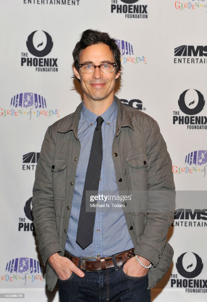 Tom Cavanagh attends the 2012 Garden of Dreams talent show at Radio City Music Hall on April 5, 2012 in New York City.