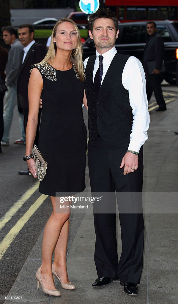 Tom Chambers (R) and guest attend the English National Ballet's Summer Party at The Dorchester on June 15, 2010 in London, England.