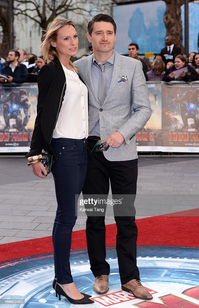 Tom Chambers attends a special screening of 'Iron Man 3' at Odeon Leicester Square on April 18, 2013 in London, England.