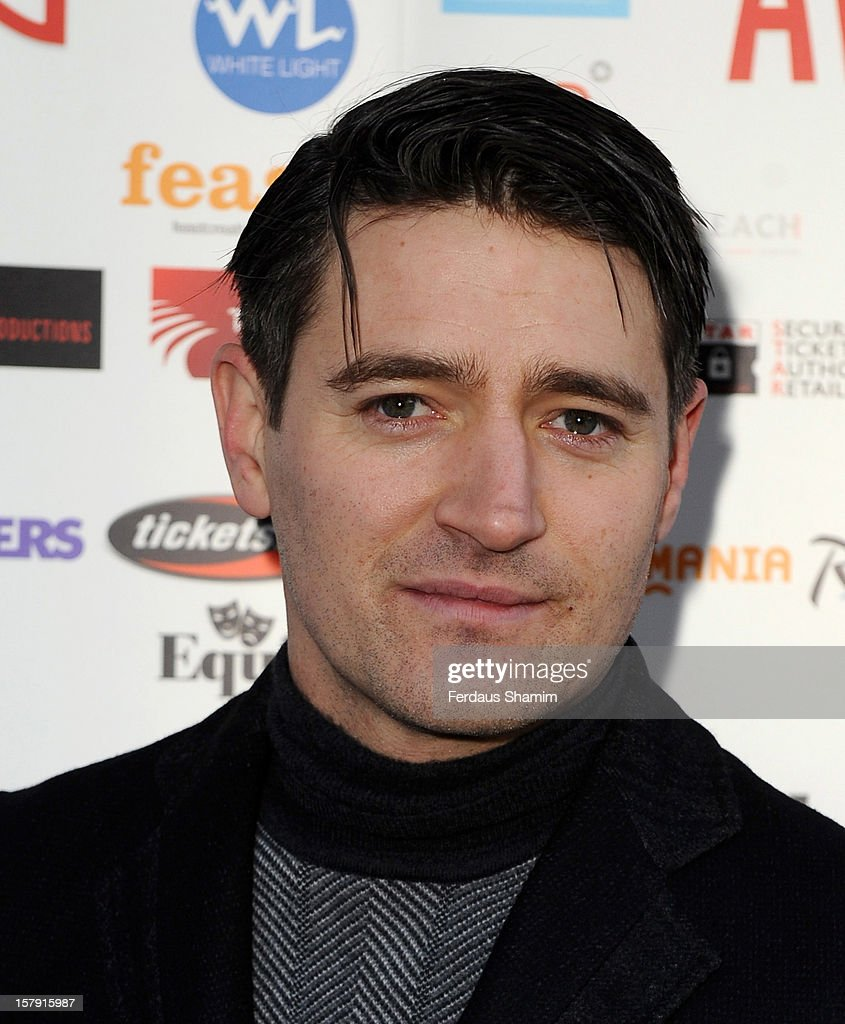 Tom Chambers attends the Whatsonstage.com Theatre Awards nominations launch at Cafe de Paris on December 7, 2012 in London, England.