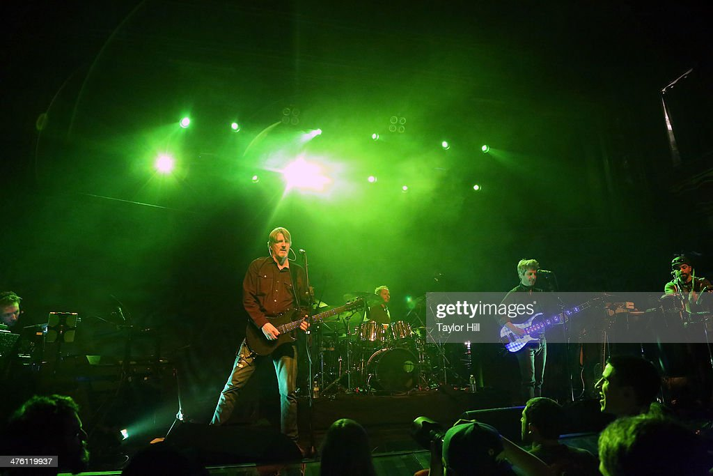 Tom Cleary, Scott Murawski, Todd Isler, Mike Gordon, and Craig Myers perform at Webster Hall on March 1, 2014 in New York City.