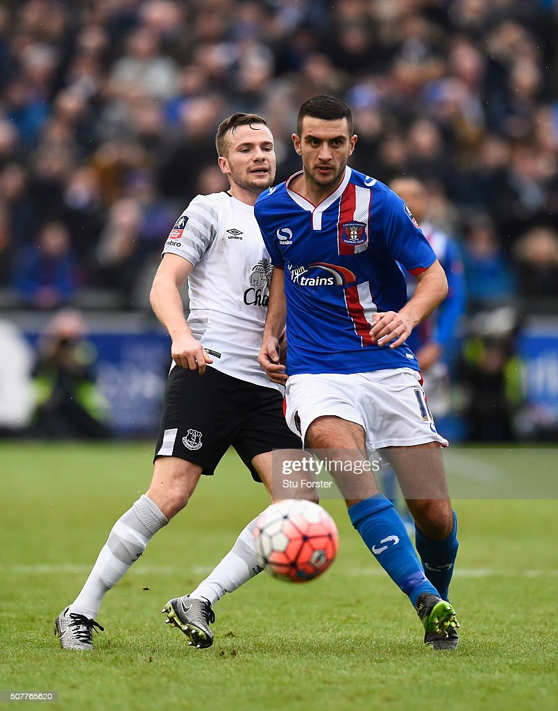 Gary Dicker Carlisle Utd. v. Everton, FA Cup 2016