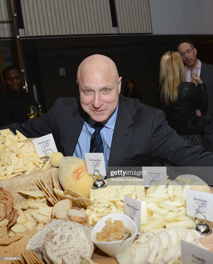 Tom Colicchio attends the Bank of America and Food Wine with The Cinema Society screening of 'A Place at the Table' after party at Riverpark on...