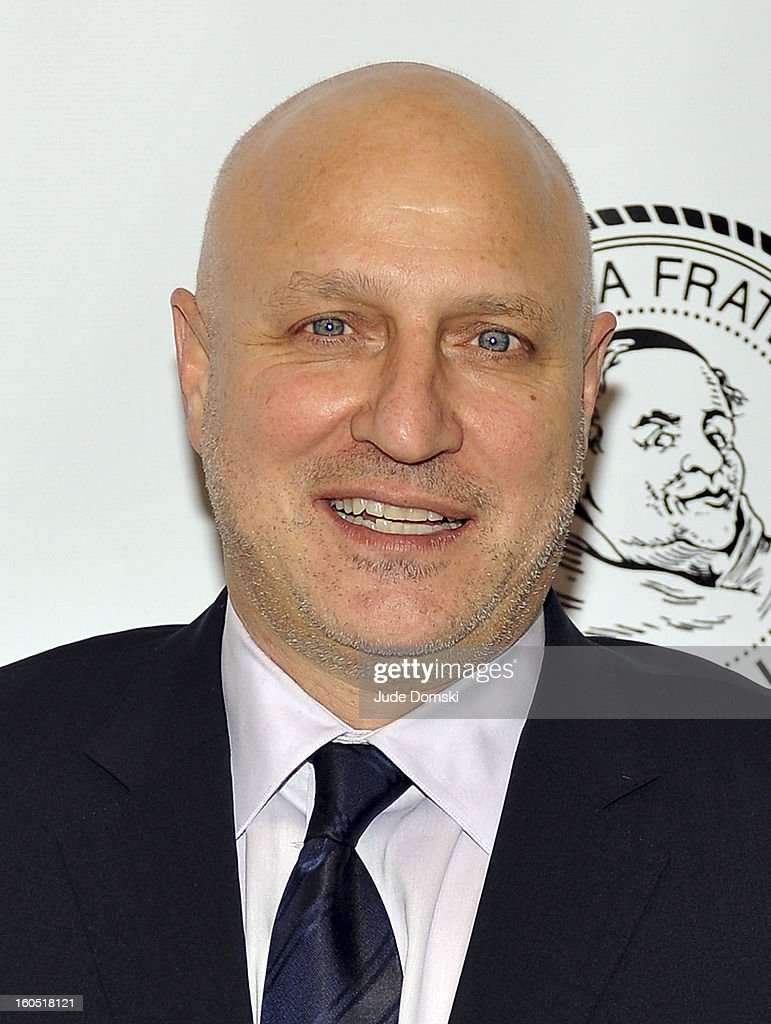 <a gi-track='captionPersonalityLinkClicked' href=/galleries/search?phrase=Tom+Colicchio&family=editorial&specificpeople=4167072 ng-click='$event.stopPropagation()'>Tom Colicchio</a> attends The Friars Club Presents: Do You Think You Can Roast?! Padma Lakshmi at New York Friars Club on February 1, 2013 in New York City.