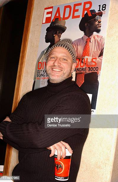 Tom Colicchio during 2004 Park City Levi's Hosts 'Dig' Party at Levi's House in Park City Utah United States