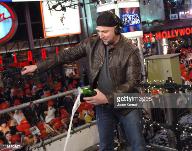 Tom Colicchio of Top Chef during NBC's New Year's Eve 2007 with Carson Daly Rehearsals at Times Square in New York City New York United States