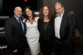 Tom ColicchioCo producers/directors Lori Silverbush Kristi Jacobson and Jeff Bridges attend the Bank Of America And Food Wine With The Cinema Society...