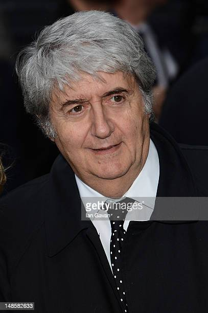 Tom Conti attends European premiere of 'The Dark Knight Rises' at Odeon Leicester Square on July 18 2012 in London England