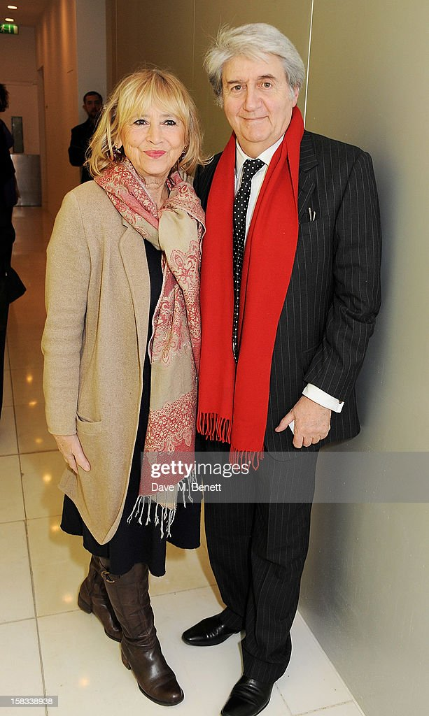 Tom Conti (R) attends the English National Ballet Christmas Party at St Martins Lane Hotel on December 13, 2012 in London, England.