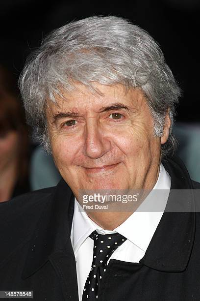 Tom Conti attends the European premiere of 'The Dark Knight Rises' at Odeon Leicester Square on July 18 2012 in London England