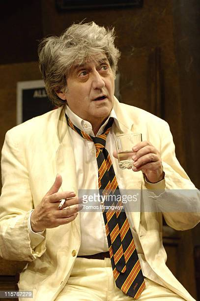 Tom Conti during 'Jeffrey Bernard is Unwell' – Photocall at Garrick Theatre in London Great Britain