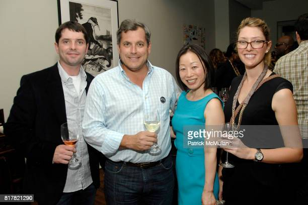 Tom Conway Tommy Crudup Hanna Lee and Gillian Conway attend OLDMAN'S BRAVE NEW WORLD OF WINE Book Launch Hosted by W W Norton and Mark Oldman at...