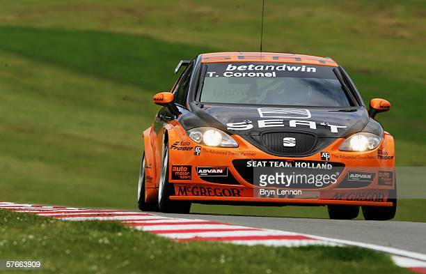 Tom Coronel of The Netherlands and GR Asia in action during free practice for the FIA World Touring Car Championship on May 20 2006 at Brands Hatch...
