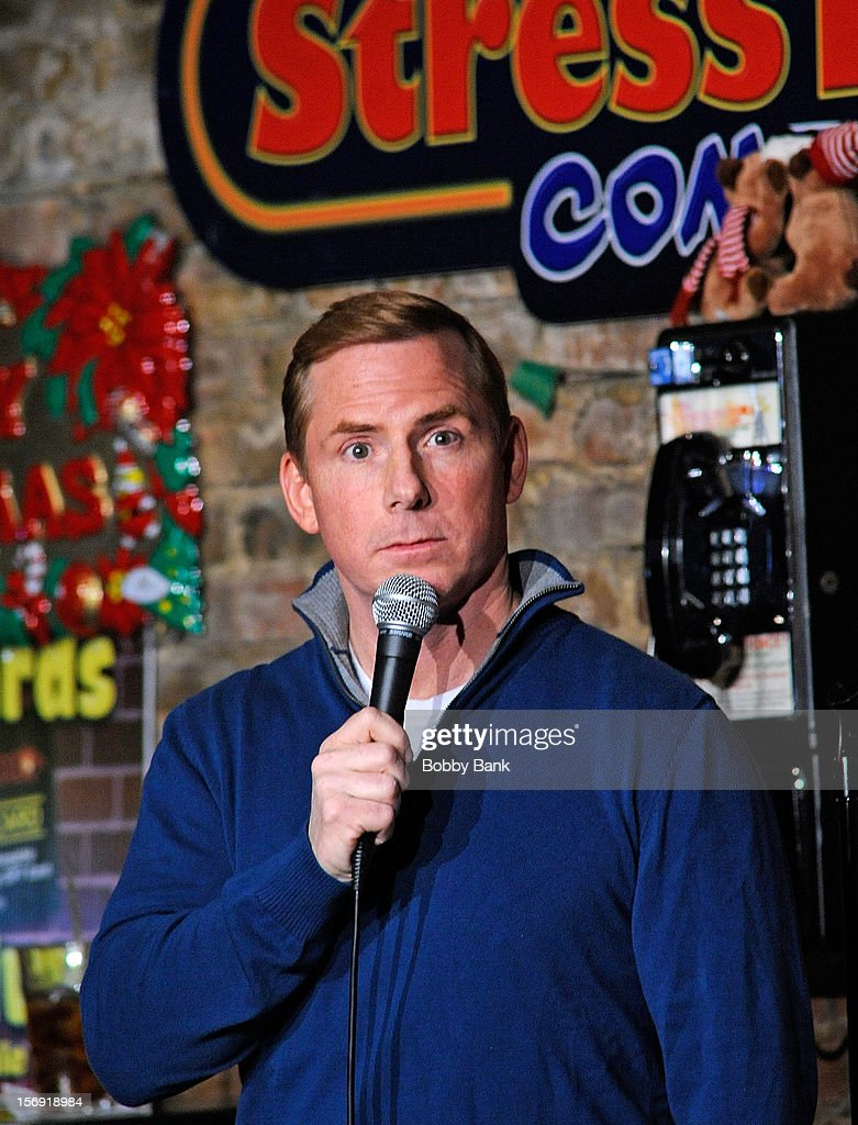 Tom Cotter performs at The Stress Factory Comedy Club on November 24, 2012 in New Brunswick, New Jersey.
