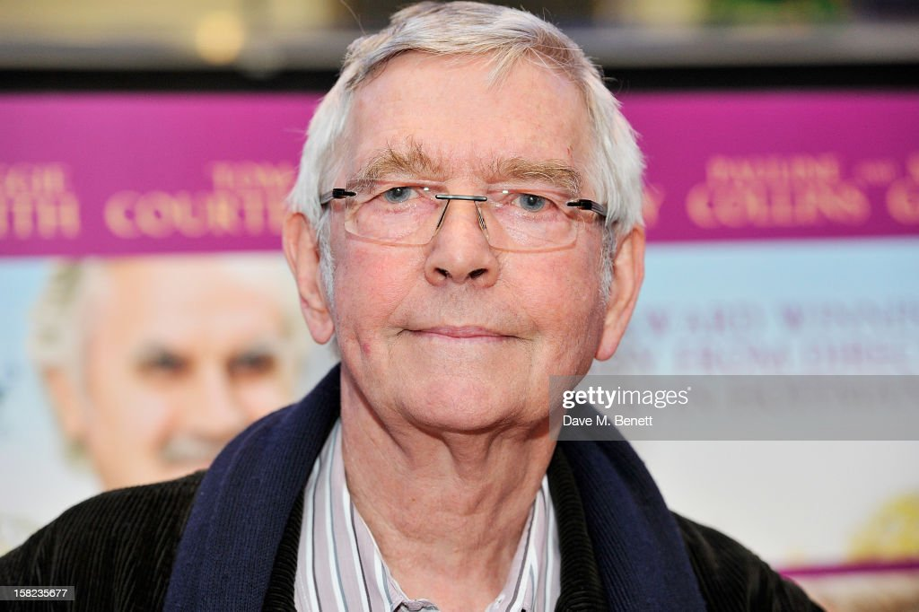 Tom Courtenay attends a Gala Screening of 'Quartet' at Odeon West End on December 11, 2012 in London, England.