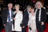 Tom Courtenay Dame Maggie Smith director Dustin Hoffman Pauline Collins and Billy Connolly attend the Premiere of 'Quartet' during the 56th BFI...