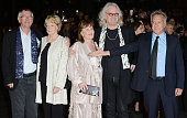 Tom Courtenay Maggie Smith Pauline Collins and Billy Connolly and Dustin Hoffman attend the premiere of Quartet at The BFI London Film Festival at...