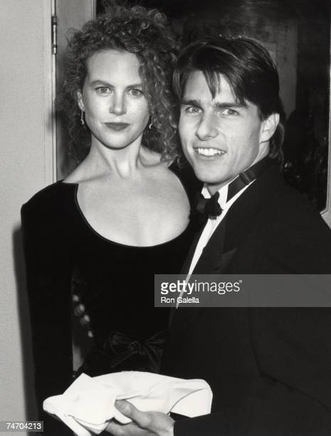 Tom Cruise and Nicole Kidman at the Shrine Auditorium in Los Angeles California