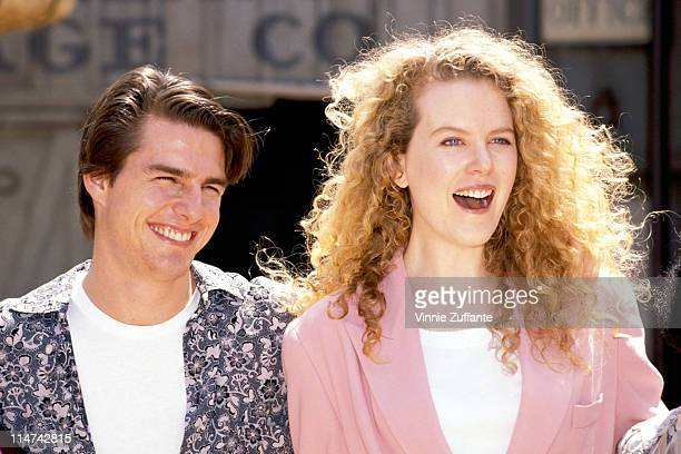 Tom Cruise and Nicole Kidman at Universal Studios Theme Park in Los Angeles 1992