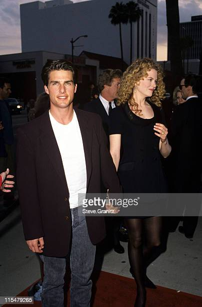 Tom Cruise and Nicole Kidman during ''Far Away'' Beverly Hills Premiere at The Academy in Beverly Hills California United States