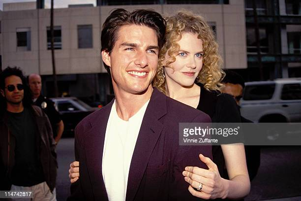 Tom Cruise and Nicole Kidman in Los Angeles 1992