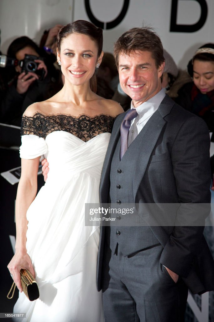 Tom Cruise, and Olga Kurylenko attend the UK Premiere of 'Oblivion' at BFI IMAX on April 4, 2013 in London, England.