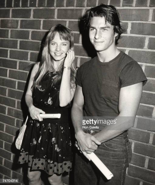 Tom Cruise and Rebecca De Mornay at the Director's Guild in Hollywood California