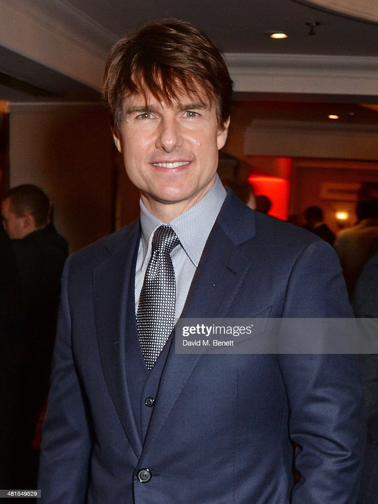 Tom Cruise arrives at the Jameson Empire Awards 2014 at The Grosvenor House Hotel on March 30, 2014 in London, England.