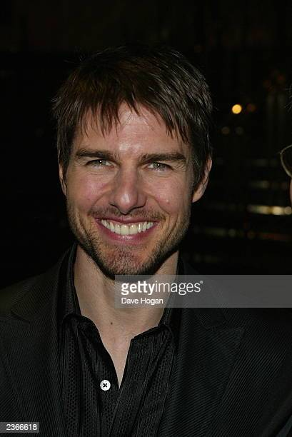 Tom Cruise at the London Premier of his new film Vanilla Sky at the Empire Cinema Leicester Square in London England on 1/21/02 Photo by Dave...