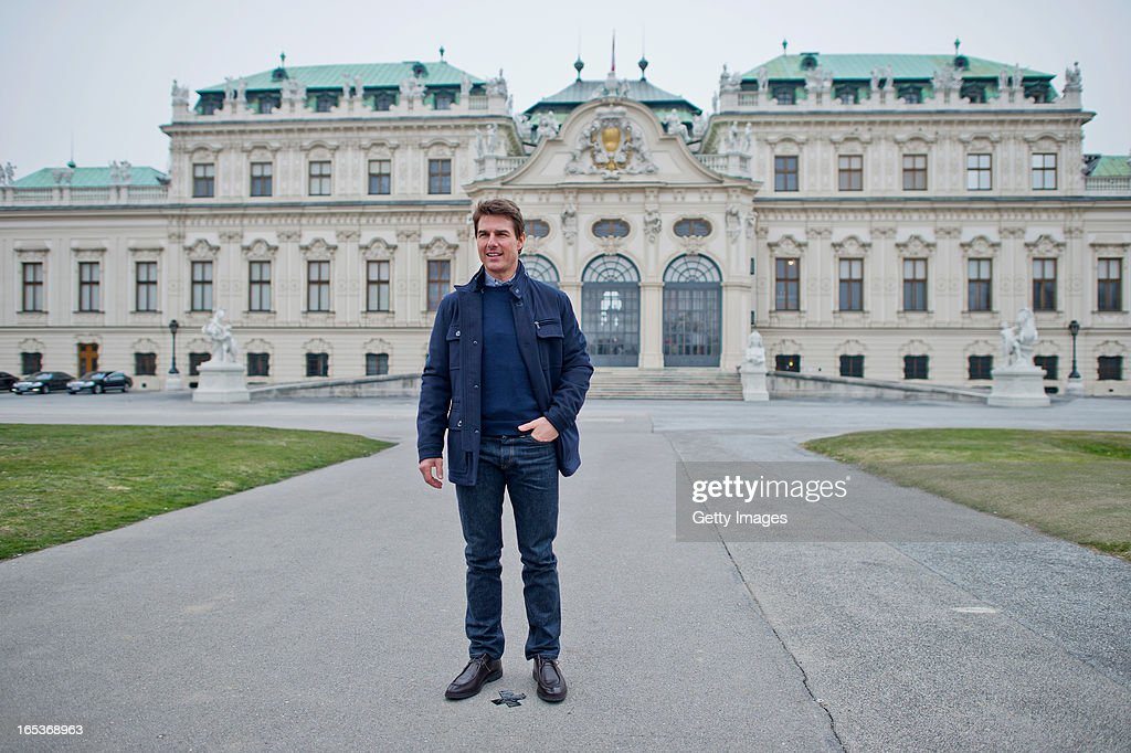 <a gi-track='captionPersonalityLinkClicked' href=/galleries/search?phrase=Tom+Cruise&family=editorial&specificpeople=156405 ng-click='$event.stopPropagation()'>Tom Cruise</a> attends a photo call for the film 'Oblivion' at Belvedere Palace on April 2, 2013 in Vienna, Austria.