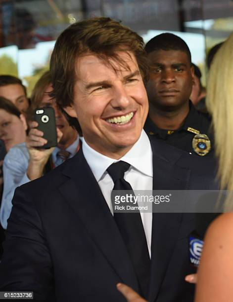 Tom Cruise attends 'Jack Reacher Never Go Back' Variety The Children's Charity Of Eastern Tennessee Benefit Screeningon October 17 2016 in Knoxville...