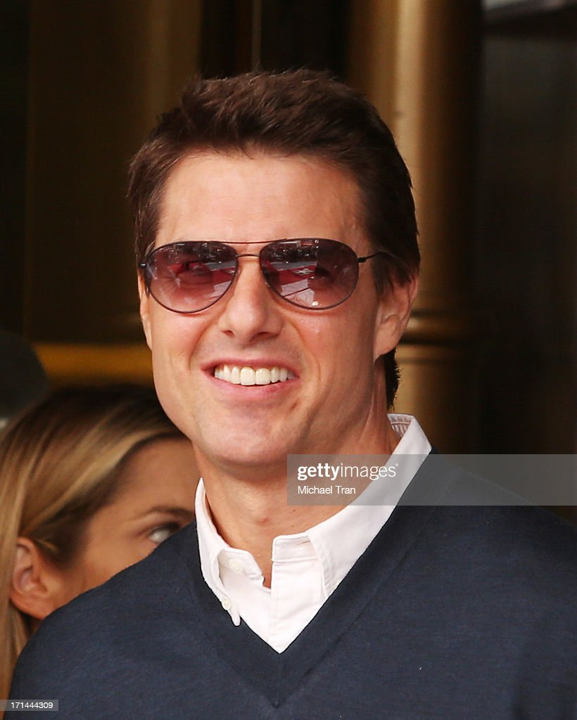 <a gi-track='captionPersonalityLinkClicked' href=/galleries/search?phrase=Tom+Cruise&family=editorial&specificpeople=156405 ng-click='$event.stopPropagation()'>Tom Cruise</a> attends the ceremony honoring Jerry Bruckheimer with a Star on The Hollywood Walk of Fame held in front of El Capitan Theatre on June 24, 2013 in Hollywood, California.