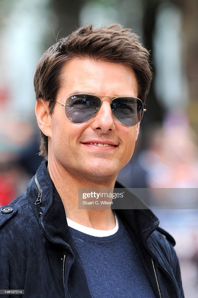Tom Cruise attends the European premiere of 'Rock Of Ages' at Odeon Leicester Square on June 10, 2012 in London, England.