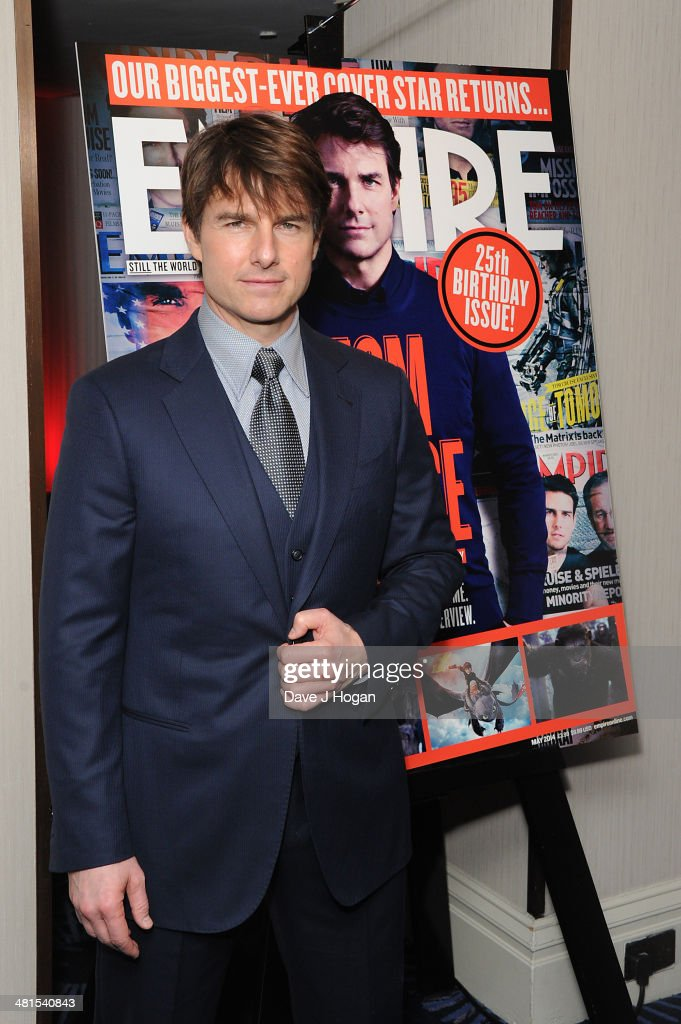 <a gi-track='captionPersonalityLinkClicked' href=/galleries/search?phrase=Tom+Cruise&family=editorial&specificpeople=156405 ng-click='$event.stopPropagation()'>Tom Cruise</a> attends the Jameson Empire Film Awards 2014 at The Grosvenor House Hotel on March 30, 2014 in London, England.