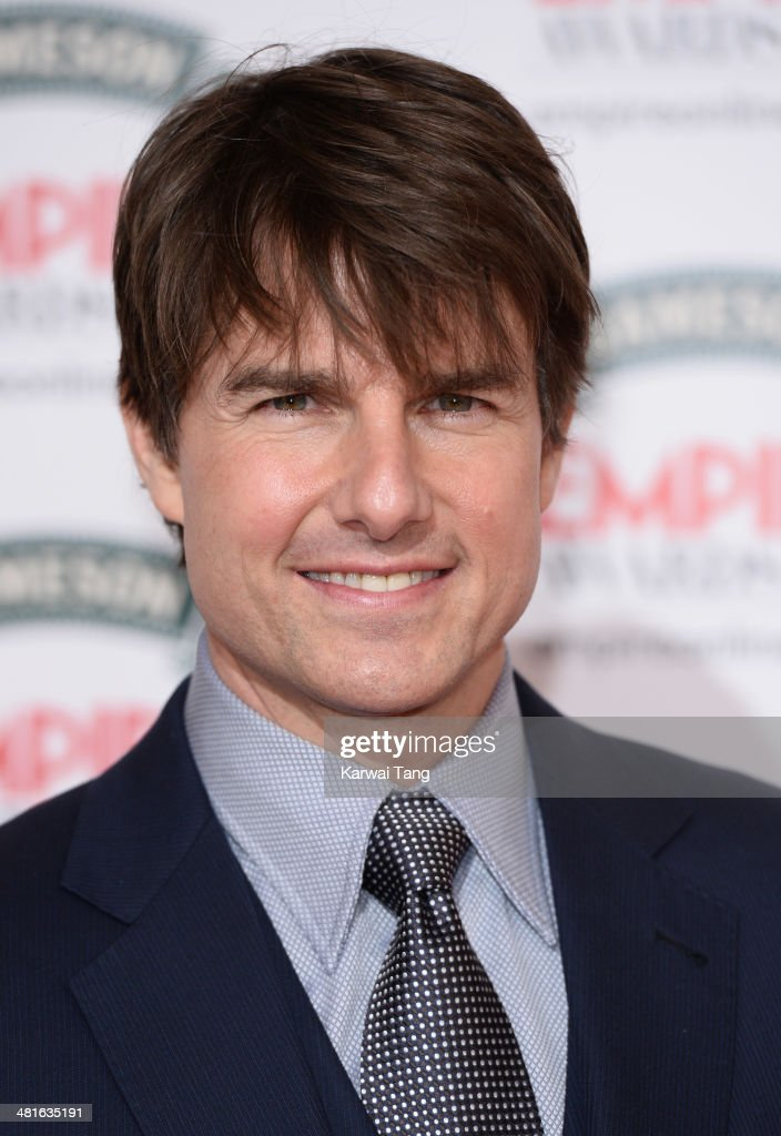Tom Cruise attends the Jameson Empire Film Awards at Grosvenor House on March 30, 2014 in London, England.