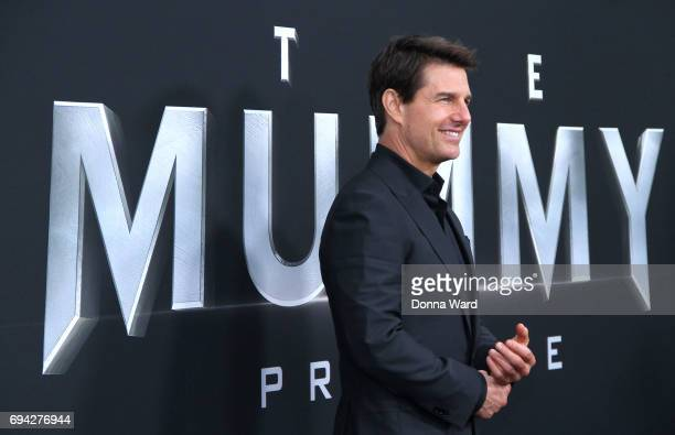 Tom Cruise attends 'The Mummy' Fan Event at AMC Loews Lincoln Square on June 6 2017 in New York City