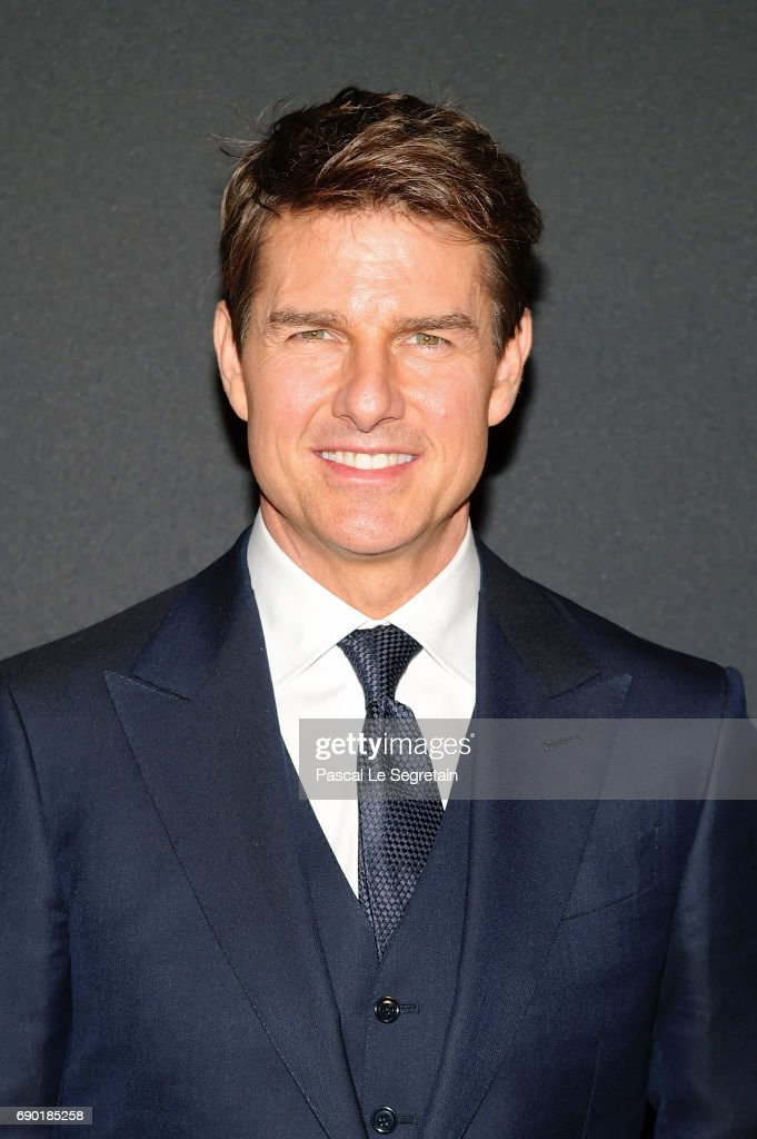 Tom Cruise attends 'The Mummy - La Momie' Paris Premiere at Le Grand Rex on May 30, 2017 in Paris, France.