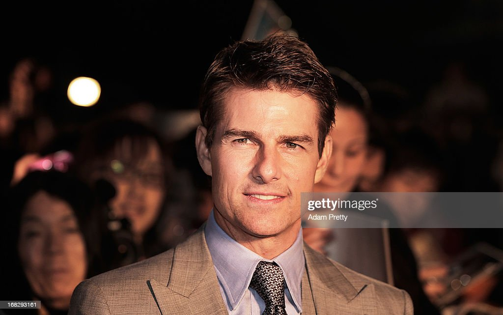 <a gi-track='captionPersonalityLinkClicked' href=/galleries/search?phrase=Tom+Cruise&family=editorial&specificpeople=156405 ng-click='$event.stopPropagation()'>Tom Cruise</a> attends the 'Oblivion' Japan Premiere at Roppongi Hills on May 8, 2013 in Tokyo, Japan. The film will open on May 31 in Japan.