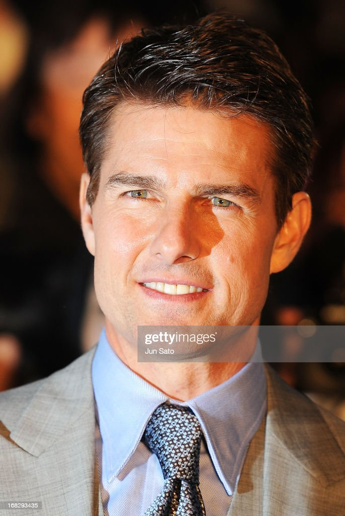 Tom Cruise attends the 'Oblivion' Japan Premiere at Roppongi Hills on May 8, 2013 in Tokyo, Japan. The film will open on May 31 in Japan.