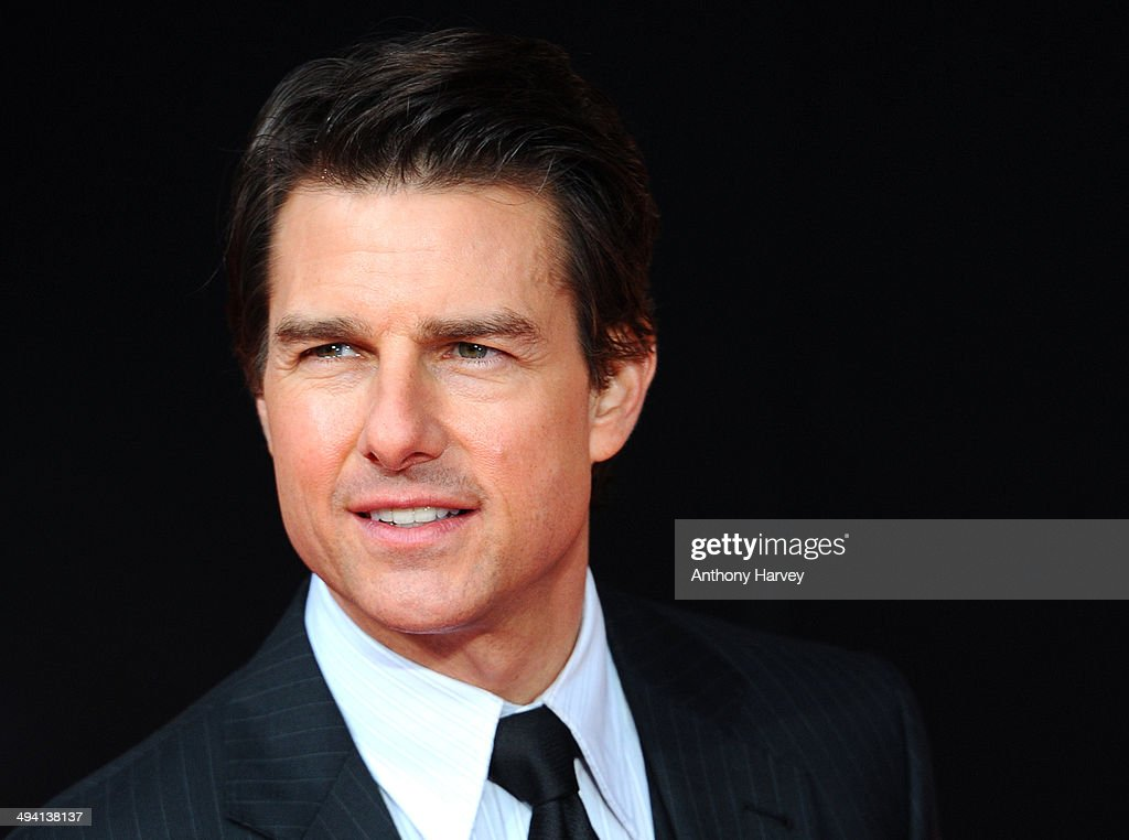 <a gi-track='captionPersonalityLinkClicked' href=/galleries/search?phrase=Tom+Cruise&family=editorial&specificpeople=156405 ng-click='$event.stopPropagation()'>Tom Cruise</a> attends the premiere of 'Edge Of Tomorrow' on May 28, 2014 in London, United Kingdom.