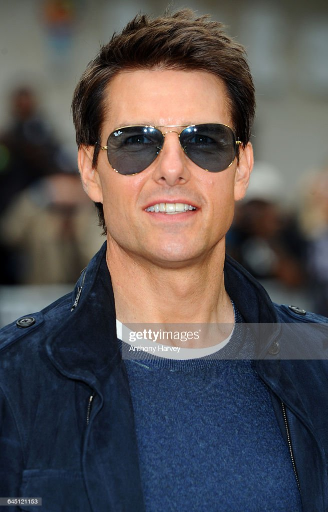 Tom Cruise attends the Rock of Ages Premiere on June 10 2012 at the Odeon Cinema in London