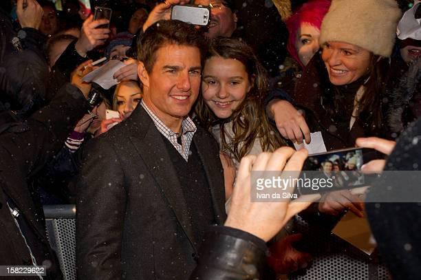 Tom Cruise attends the Swedish Premiere of 'Jack Reacher' at Multiplex Sergel on December 11 2012 in Stockholm Sweden