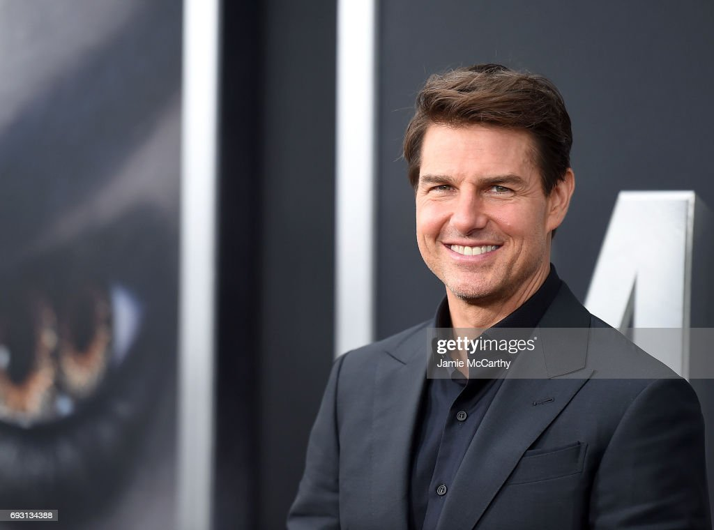 Tom cruise attends the 'The Mummy' New York Fan Eventat AMC Loews Lincoln Square on June 6, 2017 in New York City.