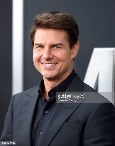 Tom cruise attends the 'The Mummy' New York Fan Eventat AMC Loews Lincoln Square on June 6 2017 in New York City