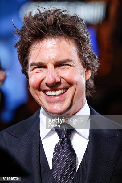 Tom Cruise attends the Tokyo...