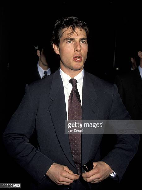 Tom Cruise during The 52nd Annual Golden Apple Awards at Beverly Hilton Hotel in Beverly Hills CA United States